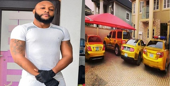 Kcee shows gold-painted