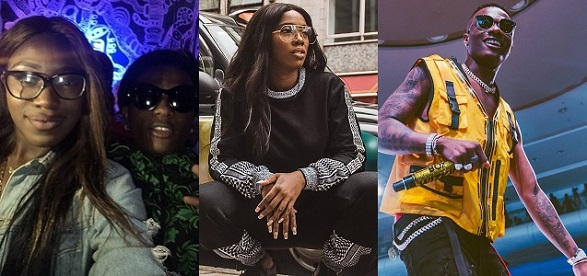 Lady narrates how she was left embarrassed after she mistakenly asked Tiwa Savage to take a picture of herself and Wizkid