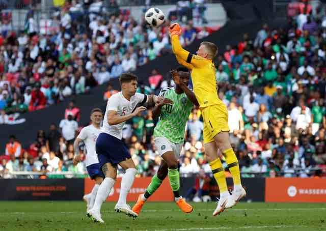 England vs Nigeria Friendly