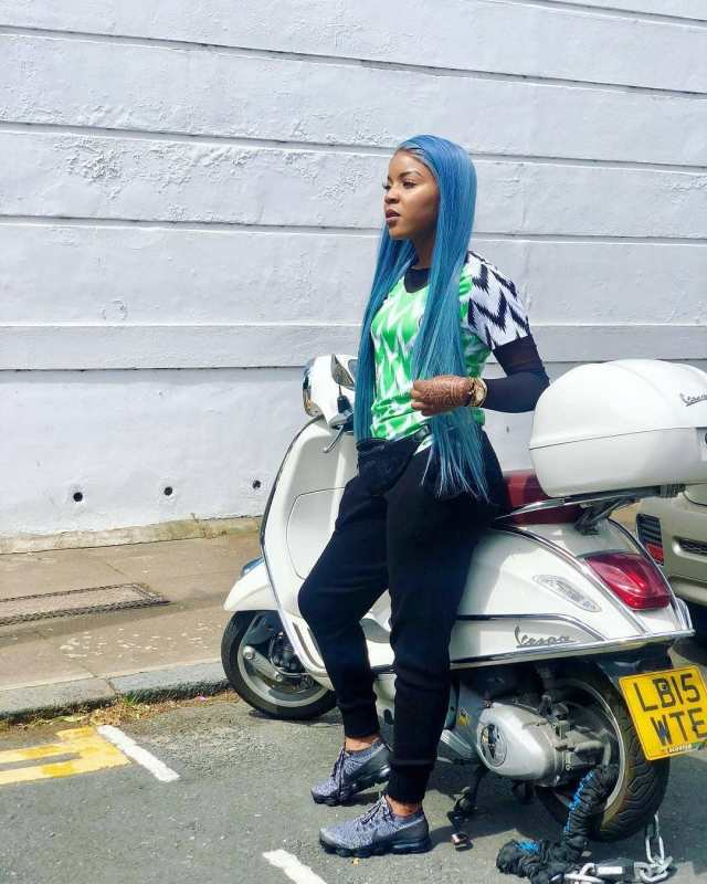 1305657c5 ... Photos of your favourite celebrities rocking Nigeria s World Cup Kit ...