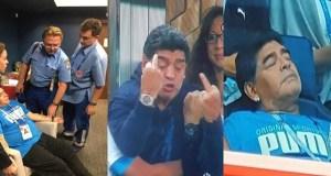 FIFA punishes Maradona