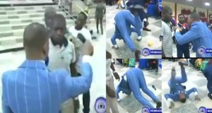 Pastor Obinim somersaults