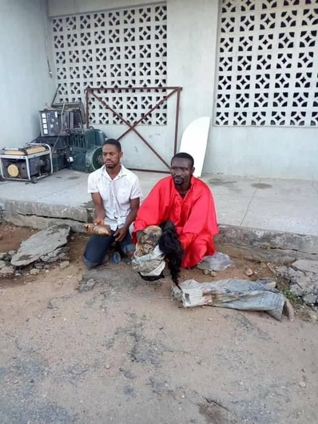 parts 0 - PHOTOS: Pastor kills prostitute for rituals, buries her parts in his altar