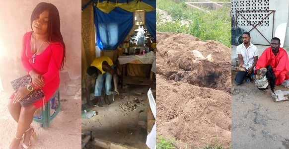 Kogi Pastor kills Prostitute, Buries Her Body Parts in his Church Altar (photos)