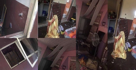 SARS operatives allegedly invade hostels at Adekunle Ajasin University in Ondo State at 4a.m, beat up students for refusing to let them in