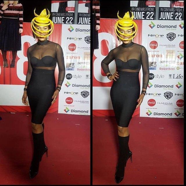Oceans8 premiere: Toke Makinwa, Osas Ighodaro Ajibade, others go the extra mile at the Nigeria's MET Gala (photos)