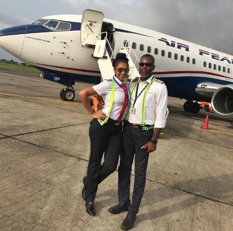 nigeria female pilot