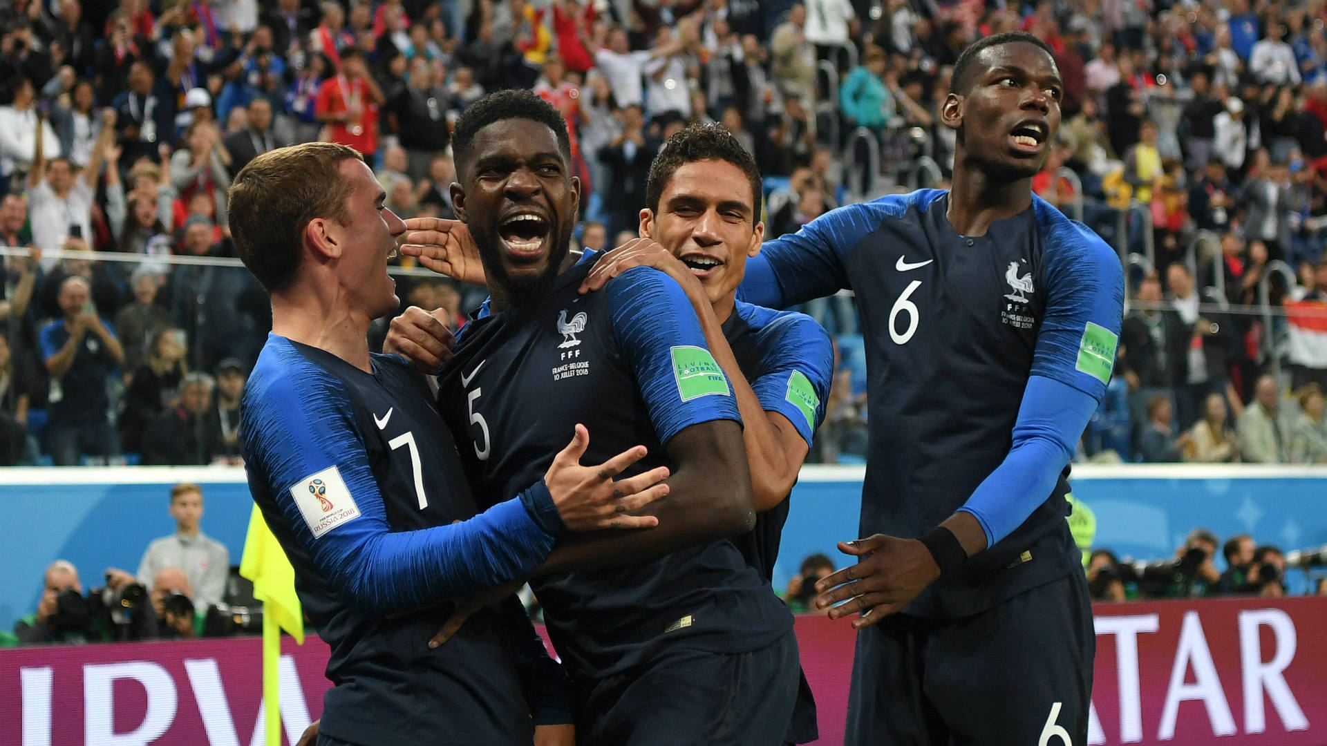 France wins Russia 2018 FIFA World Cup