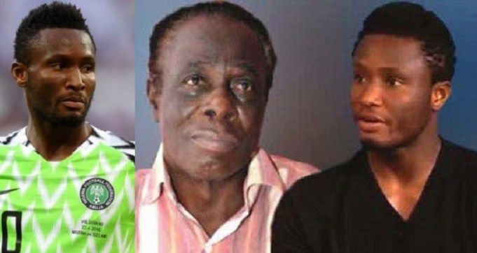 Mikel Obi's father