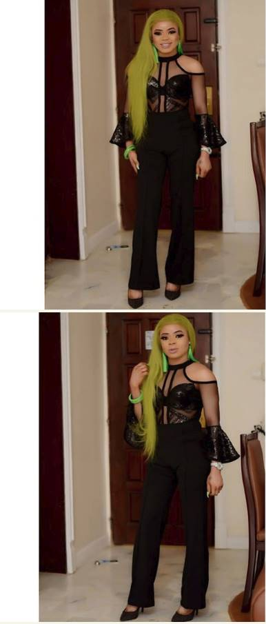Lady slams Bobrisky