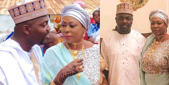 Widow of Late billionaire, Dehinde Fernandez, marries her younger lover (Photos)
