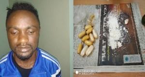 Nigerian man nabbed
