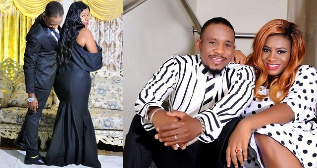 Nigerian Actor Junior Pope Gushes Over His Wife's Curvy Ass
