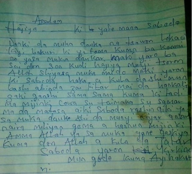 Kidnappers write governor after abducting his S.A's son