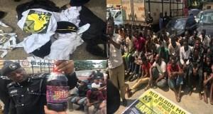 Lagos police arrest