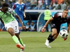 Ahmed Musa goal