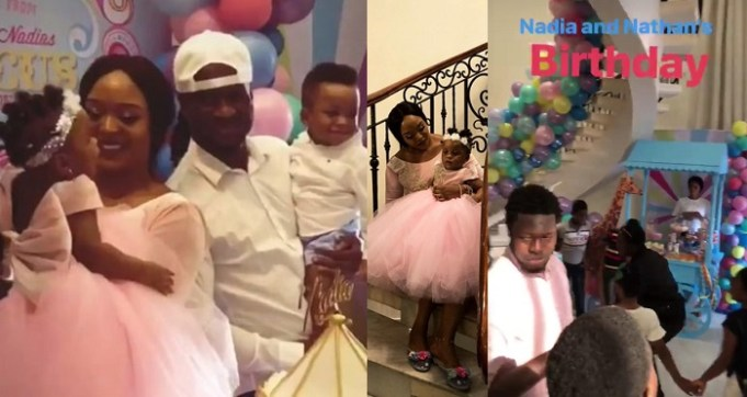 Image result for paul okoye twins birthday party