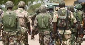 Nigerian Soldiers missing