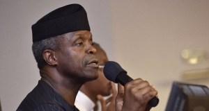 Yemi Osinbajo says Boko Haram