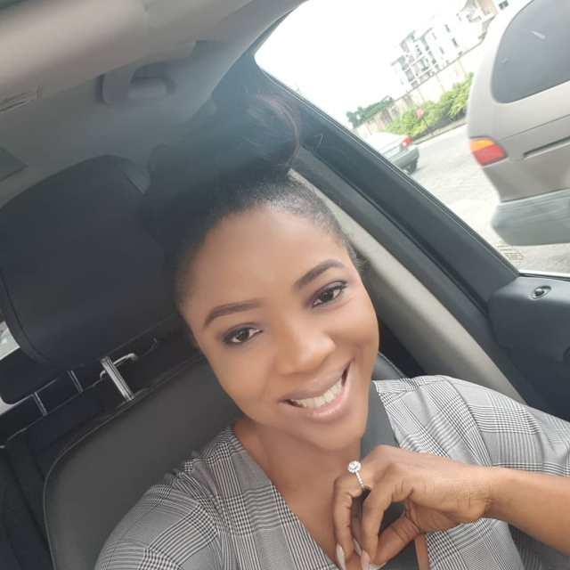 """""""Better husband"""" – Newly engaged Sandra Ikeji says as she flaunts her engagement ring"""