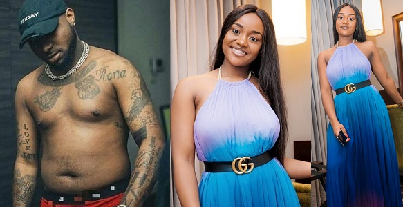 """""""My wife wears the latest bag"""" — Davido shows off his wife's N827,000 Fendi Bag"""