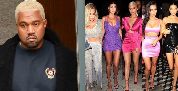 GIST:Kanye West reveals he would 'smash' his wife, Kim Kardashian's sisters in new song