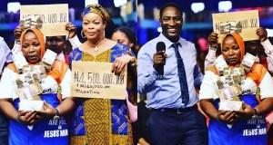 Nigerian prophet blesses