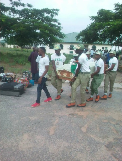 Nine corps members drown