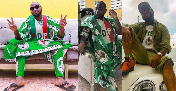 Image result for Davido's NYSC programme may be extended by 3 months without him getting paid.
