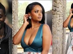 Dillish Mathews Flaunts Cleavage