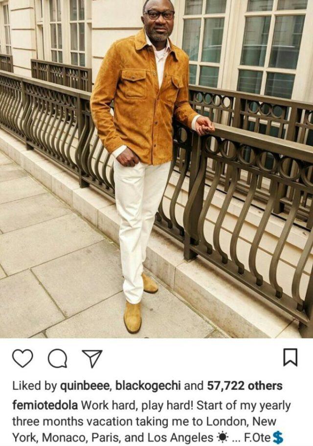 Instagram Beggars Slams Femi Otedola