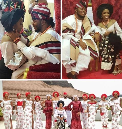 Lala Akindoju's wedding