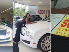 Bentley Linda Ikeji Bought