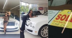 Bentley Linda Ikeji Bought