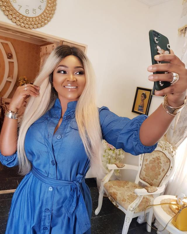 Mercy Aigbe Flaunts Mansion