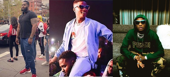Image result for 'U Are A God Sent' – Wizkid's Bodyguard Appreciates Him