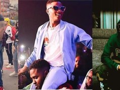 Wizkid's Bodyguard Appreciates Him