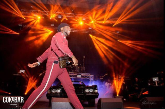 Burna Boy's sold-out concert