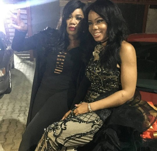 Toyin Lawani unfollows Nina