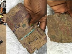 Beggar rejects dirty N100 note
