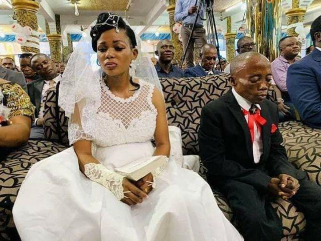 unhappy bride runs away