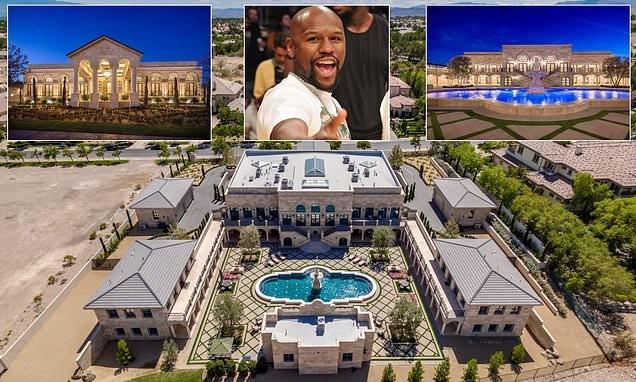 Inside Floyd Mayweather's new $10 million mansion in Las Vegas desert