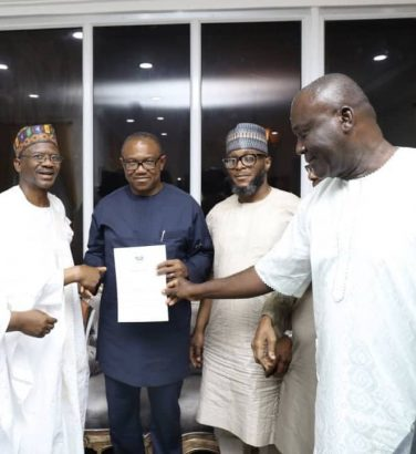Atiku Abubakar picks Peter Obi
