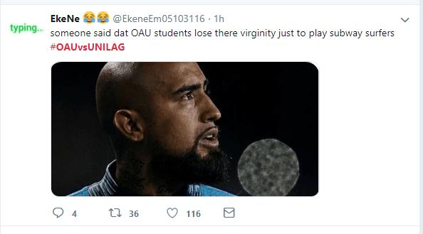 OAU and UNILAG shades each other