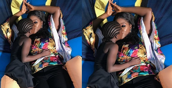 Image result for Mercy Johnson Okojie and daughter serve mother-daughter goals.