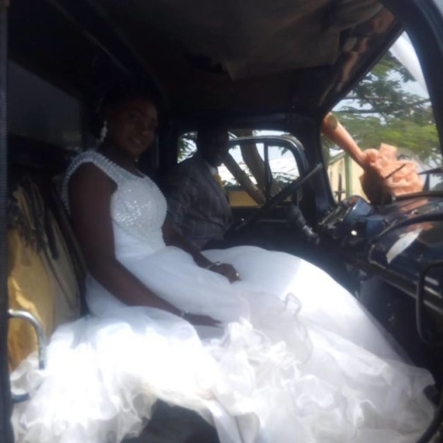 Truck driver gets married