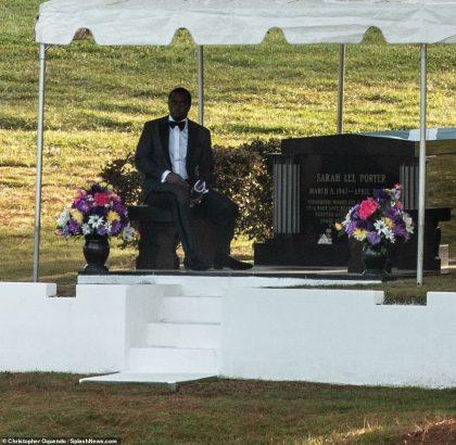 Kim Porter burial
