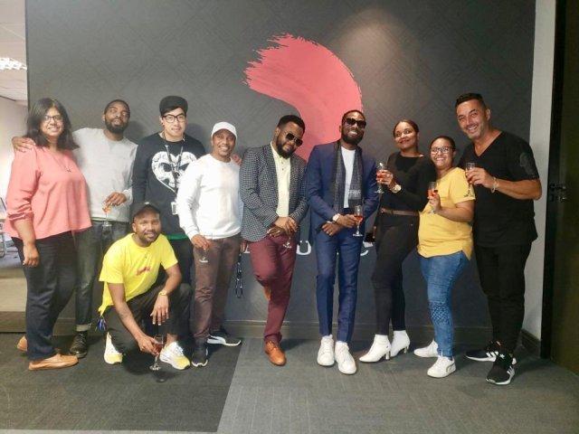 D'banj signs music deal