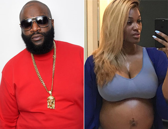 Rick Ross And Girlfriend Brianna Camille, Welcomes Baby Boy