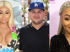Blac Chyna berates Rob Kardashian